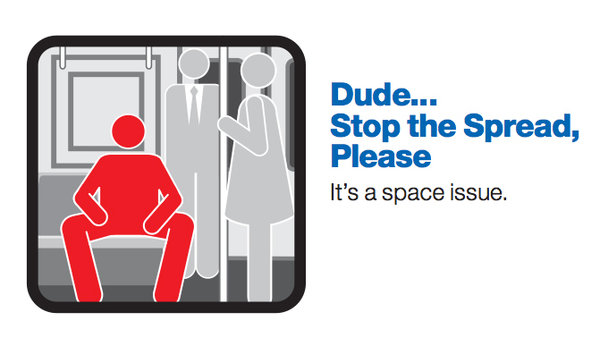 Manspreading NewYork Mansplaining Public Space F.Word Feminism