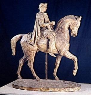 Barye, Napoléon Ier en empereur romain (entre 1860 et 1865)