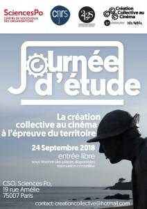 [Journée d'étude] La création collective au cinéma à l'épreuve du territoire. CSO, Sciences Po, 24 septembre 2018.